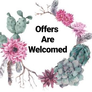 🌼OFFERS WELCOME! 🌼